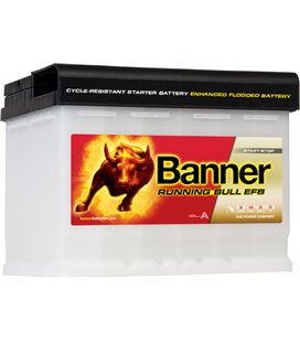 BANNER AKU RUNNING BULL EFB 60AH 241X175X190 - + 560A BA56000