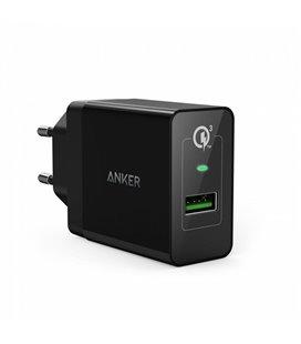 ANKER POWERPORT+ USB LAADIJA MUST 240V3,6-6,5V3A/6,5-9V2A/9-12V1,5A/5V2,4A A2013L11