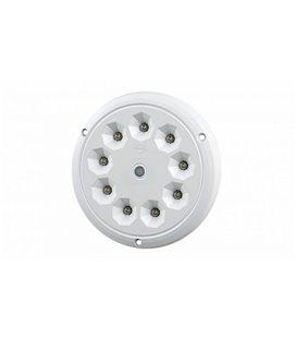 LWD2160 SALONGI SISEVALGUSTI ÜMAR 9-LED LÜLITIGA 142,5X6 12/24V IP65 999185200