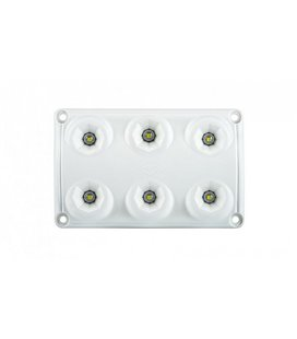 LWD2154 SALONGI SISEVALGUSTI 6-LED 75X120X16 12/24V IP65 999185180
