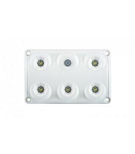 LWD2153 SALONGI SISEVALGUSTI 5-LED LÜLITIGA 75X120X16 12/24V IP65 999185160