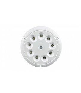 LWD2160 SALONGI SISEVALGUSTI ÜMAR 9-LED LÜLITIGA 142,5X6 12/24V IP65 999174870