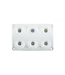 LWD2153 SALONGI SISEVALGUSTI 5-LED LÜLITIGA 75X120X16 12/24V IP65 999174850