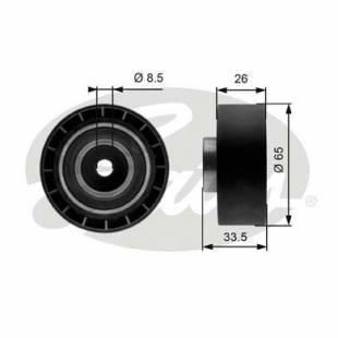 Belt tensioner Gates T39057