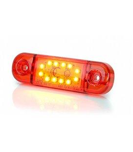 KÜLJETULI LED 12/24V PUNANE 12- LED 84X25X11 999163730