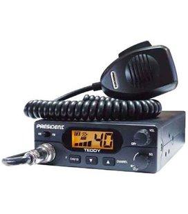 RAADIOSAATJA (CB RADIO E. LÄLLAR)PRESIDENT TEDDY ASC AM 12V 999154480