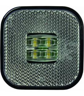 KÜLJETULI LED VALGE 62X62 12/24V 0,5M JUHTMEGA 999093420