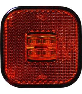KÜLJETULI LED KOLLANE 62X62 12/24V 0,5M JUHTMEGA 999082050