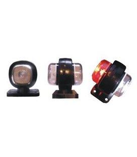 DOB-63 LED-KÜLJETULI VALGE/PUNANE 55X63MM 999005310