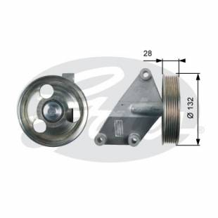 Alternator Belt Idler Guide Pulley  Gates T36428