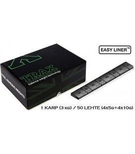 LIIMITAV TASAKAAL 3,8MM, KARP 50X60GR. (4X5+4X10) FE,MUST (TRAX 610C), 610B-060