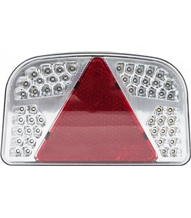 LED TAGATULI 12V VASAK 244X149X48 BLISTER 57758011