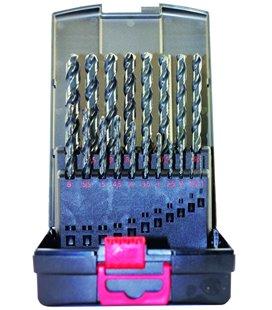 19-OS HSS-G MET PUURIDE KOMPL 1,0-10,0MM / 0,5MM SAMM TRIUMF 5105T