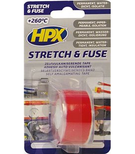 STRETCH&FUSE VULKANISEERUV TEIP 25MM/3M PUNANE HPX 32-SO2503