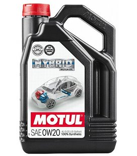 Hybrid vehicle oils MOTUL HYBRID 0W20 4L 107142