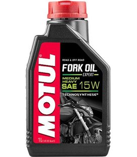 Motorcycle fork oil MOTUL FORK OIL EXPERT M/H 15W 1L 105931