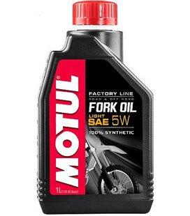 MOTUL shock absorber oils MOTUL FORK OIL FACTORY LINE LIGHT 5W 1L 105924