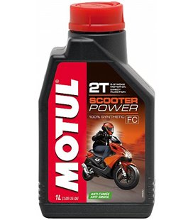 Motorcycle oil 2T synthetic MOTUL SCOOTER POWER 2T 1L 105881