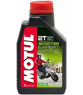 Motorcycle oil 2T semi-synthetic MOTUL SCOOTER EXPERT 2T 1L 105880
