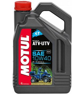 Motorcycle oil 4T mineral MOTUL ATV-UTV 4T 10W40 4L 105879