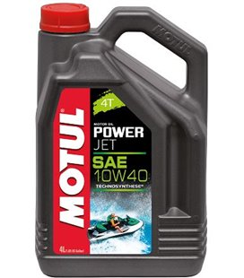 Oil Marine 4T semi-synthetic MOTUL POWERJET 4T 10W40 4L 105874