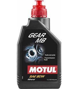 Transmission oil mineral MOTUL GEAR MB 80W 1L 105780