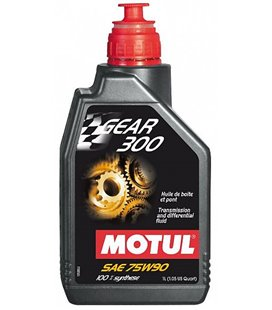 Transmission oil synthetic MOTUL GEAR 300 75W90 1L 105777