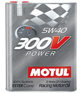MOTUL 300V engine oils MOTUL 300V POWER 5W40 2L 104242