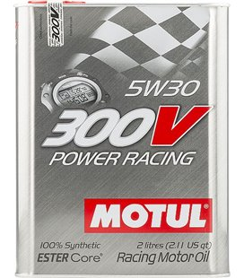 MOTUL 300V engine oils MOTUL 300V POWER RACING 5W30 2L 104241