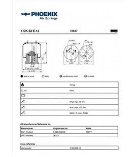 PHOENIX PHOENIX SAF/KRONE PLAST.3229003800 2621V 170MM 999115280