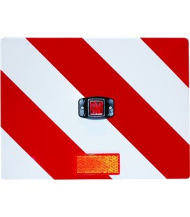 BORG-HICO PIKK VEOS TUNNUSMÄRK PUNASE LED VALGUSTIGA PAREM 400X300MM VALGE/PUNANE 999111920