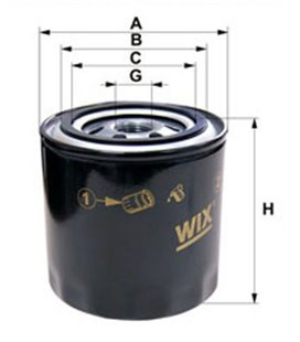 WIX Oil Filter BY-BASS VOL D12ACD WIX 999014070