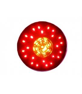DOBMAR DOB-116 LED TAGATULI ÜMMARGUNE3-OSAL.(STOP/GABARIIT/SUUND KESKEL) Ø140MM 999121860