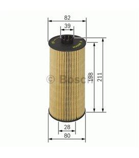 BOSCH Oil Filter MERCEDES MB VITARO ATEGO BOSCH 999148450