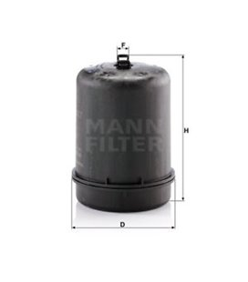 MANN FILTER 1928869 Oil Filter DAF XF106 MANN-FILTER 999169040