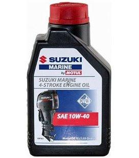 Oil Marine 4T mineral MOTUL SUZUKI MARINE 4T 10W40 MINERAAL 1L 106103