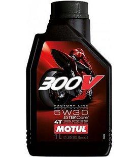 MOTUL 300V engine oils (2T&4T) MOTUL 300V FACTORY LINE ROAD RACING 5W30 1L 104108
