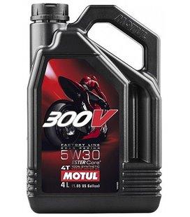 MOTUL 300V engine oils (2T&4T) MOTUL 300V FACTORY LINE ROAD RACING 5W30 4L 104111