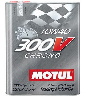 MOTUL 300V engine oils MOTUL 300V CHRONO 10W40 2L 104243