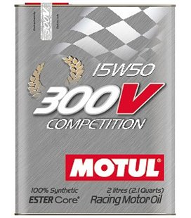 MOTUL 300V engine oils MOTUL 300V COMPETITION 15W50 2L 104244