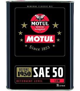 Engine oil classic MOTUL CLASSIC OIL SAE 50 2L 104510