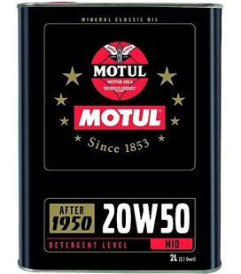 Engine oil classic MOTUL CLASSIC OIL 20W50 2L 104511