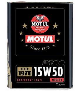Engine oil classic MOTUL CLASSIC 2100 15W50 2L 104512