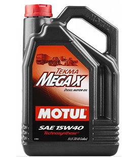 Heavy machinery engine oil semi-synthetic MOTUL TEKMA MEGA X 15W40 5L POOLSÜNT. 106378