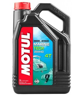 Oil Marine 4T semi-synthetic MOTUL MARINE TECH 4T 25W40 5L 107716