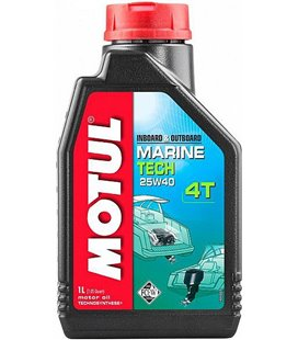 Oil Marine 4T semi-synthetic MOTUL MARINE TECH 4T 25W40 1L 107757