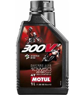 MOTUL 300V engine oils (2T&4T) MOTUL 300V2 FACTORY LINE RR OR 10W50 1L* UUS 108586