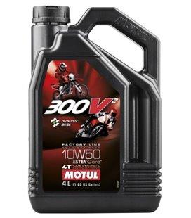 MOTUL 300V engine oils (2T&4T) MOTUL 300V2 FACTORY LINE RR/OR 10W50 4L*UUS 108587