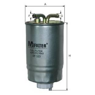 MFILTER Kütusefilter DF323