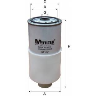 MFILTER Kütusefilter DF304